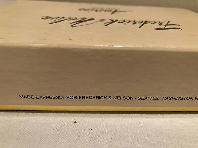 Americe Hand Bath Soap Set of 4 bars RARE VINTAGE BOX Made for Frederick Nelson