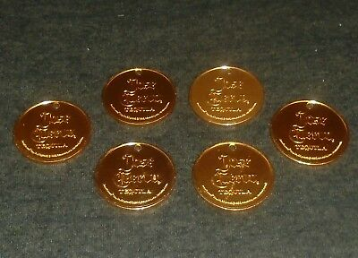 Set of 6 Jose Cuervo Tequila Whiskey MINT Trade Tokens