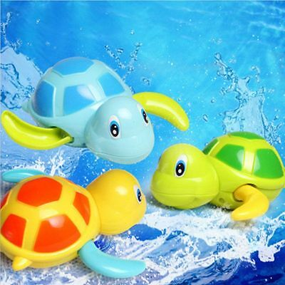 Toys Baby Children Bath Toy Swim Turtle Wound-up Chain Small Animal Toys Hot
