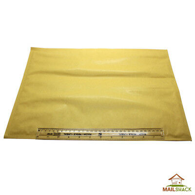 SIZE J FEATHERPOST Envelopes Gold / Manilla Bubble Mailers Postal Bags 320 x 455