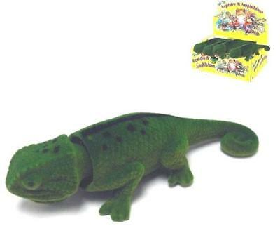 auction for BOBBLE HEAD GREEN LIZARD moving  dash nobbing reptiles novelties toy