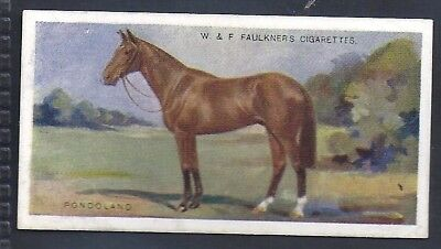 Faulkner-Prominent Racehorses Of The Present Day (1St Series)-#16- Horse Racing