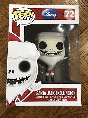 FUNKO POP! DISNEY The Nightmare Before Christmas Santa Jack Skellington #72