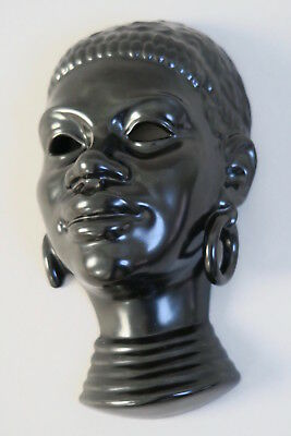 Masque Africaine Villeroy & Boch Luxembourg Septfontaines Série Congo 50's