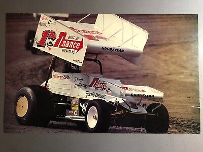 1985 Sprint Race Car World of Outlaws Print, Picture, Poster RARE!! Awesome L@@K