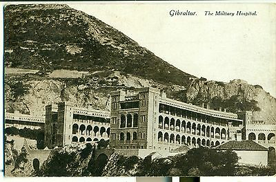 POSTCARD GIBRALTAR  The Military Hospital