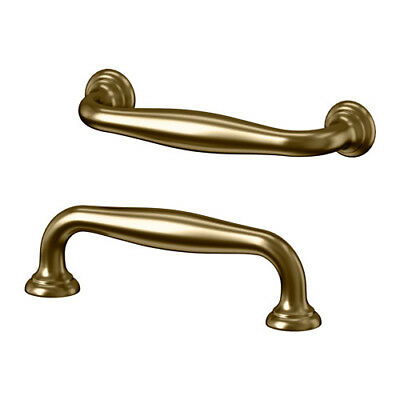 IKEA FAGLAVIK brass color 2 piece pull cabinet drawer handle furniture grip new