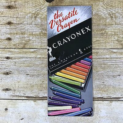 Vintage Crayonex The American Crayon Company Prang Advertising Brochure Ephemera