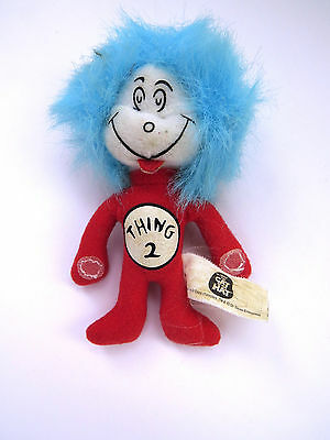 Thing 2 Dr Seuss The Cat in the Hat Mini Doll Kellogg Cereal Collectible 4.5 in
