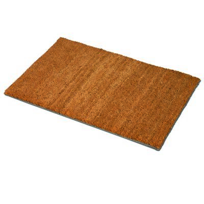 JVL Coir PVC Backed Doormat 40 x 70cm