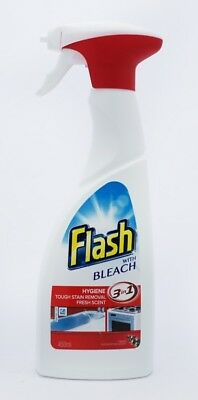 Flash Spray With Bleach 450ml 3 in 1 - All Purpose Cleaner