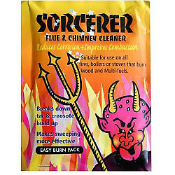 Percy Doughty Sorcerer Flue & Chimney Cleaner