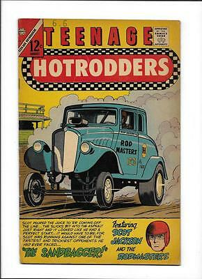 "Teenage Hotrodders #19  [1966 Vg]  ""the Sandbagger!"""