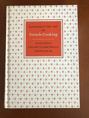 Mastering The Art Of French Cooking Cookbook-Julia Child 2009 Hard Cover