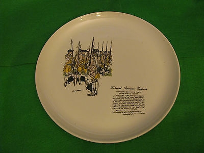 Historical American Uniforms Collector Plate
