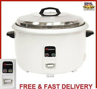 8L Automatic Rice Cooker Non Stick Kitchen Electric Pot Warmer Cook Warm 2650W