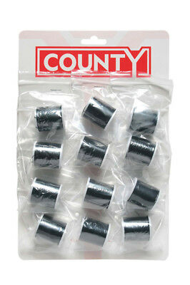 County Sewing Thread Black Card 12