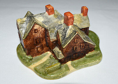 Vintage Handcrafted Sebastian Miniature The House of Seven Gables Cliff Notes