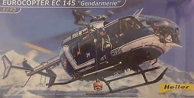 Heller Eurocopter EC 145 Gendarmerie MODEL KIT 80378 1:72 FACTORY SEALED