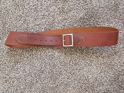 "Hunter Right Hand 155 LG 36""-44"" Drop Loop Gun Belt Western Holster .45 Cal Colt"