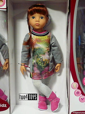"NEW 2016 Gotz HAPPY KIDZ PLAY DOLL CLARA - BENDABLE LEGS /ARMS 50cm / 19.8"" NIB"