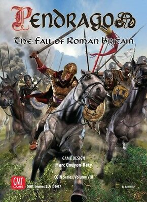Pendragon: The Fall of Roman Britain, Boardgame, New by GMT, English Edition