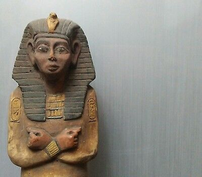 Rare Ancient Egyptian Great stone statue RAMSES III (1000-1200 BC)
