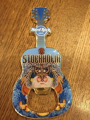 Hard Rock Cafe STOCKHOLM Bottle Opener Magnet NEU Flaschenöffner