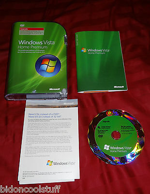 Microsoft Windows Vista Home Premium Upgrade Version 66I-00003