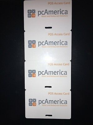 PC America, POS Access Cards 4 Pack