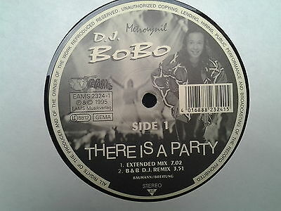 "D.J. Bobo - There Is A Party 12"" MAXI !!---NEU---"