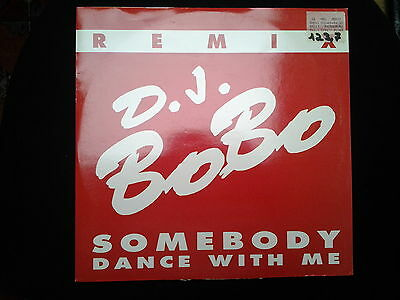 "D.J. Bobo - SOMEBODY DANCE WITH ME--REMIX--- 12"" MAXI !!DWA MADE IN ITALY"