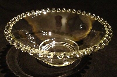 """Imperial Glass """"Candlewick"""" Crystal/Clear 5 1/2"""" Deep Sauce/Mayonnaise Bowl"""