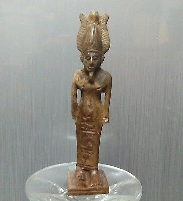 Rare Ancient Egyptian stone  Osiris, lord of the dead  (1000-300 BC)