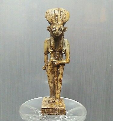 Rare Ancient Egyptian stone  SEKHMET  (1000-300 BC)