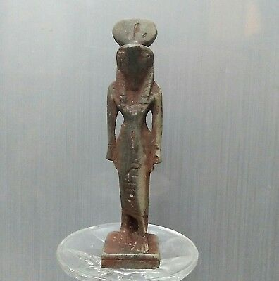 Rare Ancient Egyptian stone HORUS. (1000-300 BC)