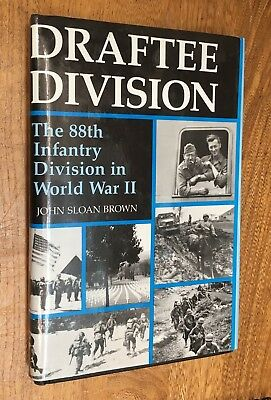 """Military, U.S. Army, World War II, Europe, 88th Infantry Division, """"Draftee Divi"""