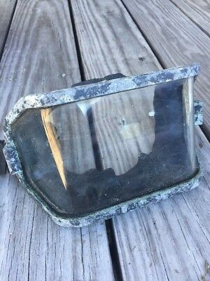 Vintage US Divers  Aqua-Lung  Professional  Wrap  Around  Mask  Glass Only