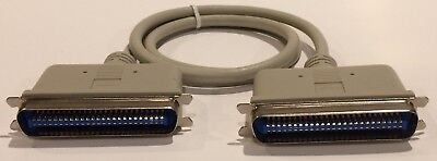 3ft Centronics//Cent50pin//wire SCSI Male~Female External M~F Extension MF Cable