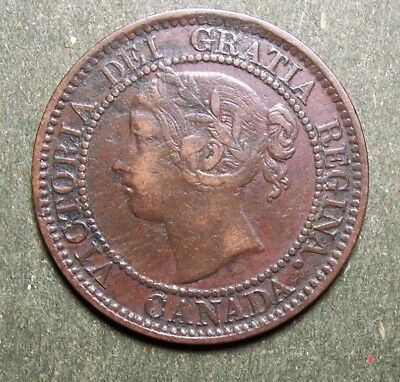 1859 Canada Large One Cent Coin Circulated Condition Lot 2