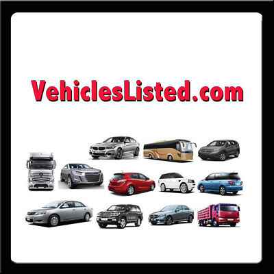 VehiclesListed.com PREMIUM Vehicles, Car Auction/ Local Classifieds DOMAIN NAME