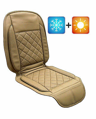 VIOTEK V2 Tru Comfort Heated & Cooled Car Seat Cover with Wireless Remote Black