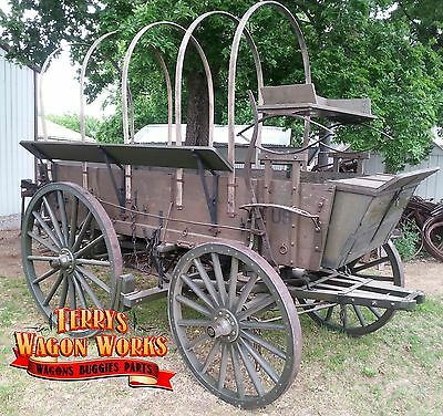 horse drawn wagon army escort wagon us military antique vehicle chuck wagon rare