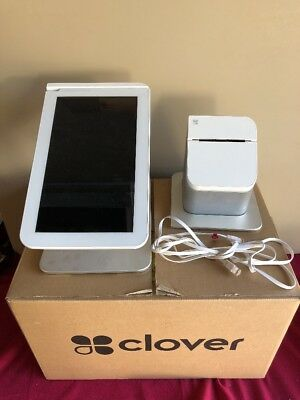 Clover POS Station And Receipt Printer (parts) Please Read