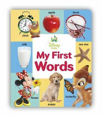 My First Words by Disney Book Group 9781484709153 (Board book, 2014)