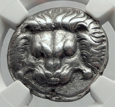 SAMOS Greek Island Off Ionia 390BC Ancient Silver Greek Tetradrachm Coin i64227