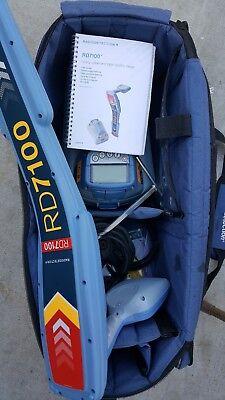 Radiodetection Rd7100 Dl Tx5  Pipe And Cable  Locator
