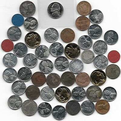 US Coin Collection 50 Lot Rare Old Silver Barber WWII Liberty Buffalo IHP Gold