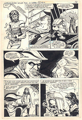 World's Finest Comics #268 p.2 - Green Arrow Action 1981 art by Trevor von Eeden