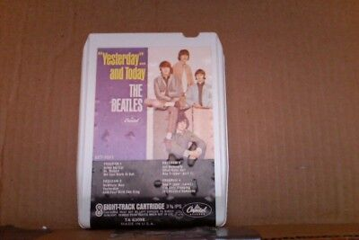 Rare Capital Record Club Beatles Yesterday and Today 8 Track Tape TA63098 Lennon